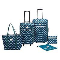 Prodigy Fashion Show 5-Piece Luggage Set