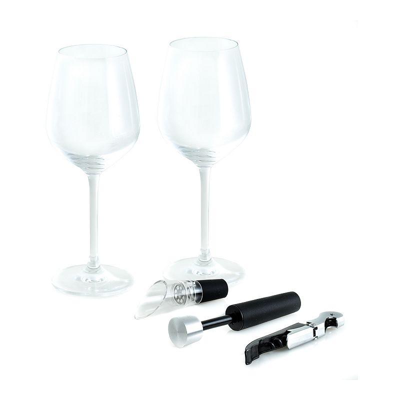 Bey-Berk Wine Set, Black