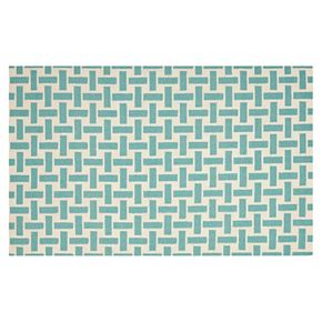 Safavieh Dhurries Cross Weave Handwoven Flatweave Wool Rug - 3' x 5'