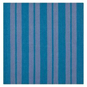 Safavieh Dhurries Bold Stripe Handwoven Flatweave Wool Rug - 6' Square