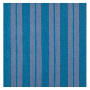 Safavieh Dhurries Bold Stripe Handwoven Flatweave Wool Rug - 6' Square