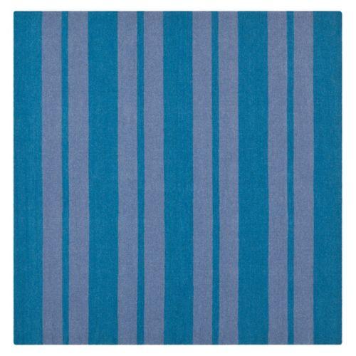 Safavieh Dhurries Bold Stripe Handwoven Flatweave Wool Rug – 6′ Square