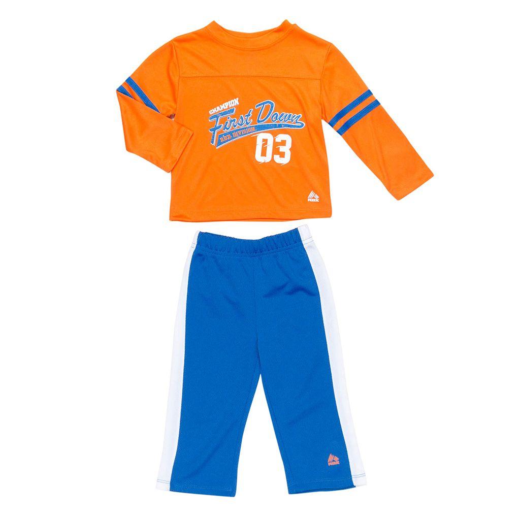 Toddler Boy RBX Graphic Tee & Pants Set