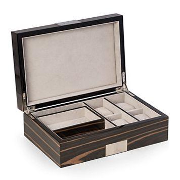 Bey-Berk Lacquered Wood Watch Storage Case