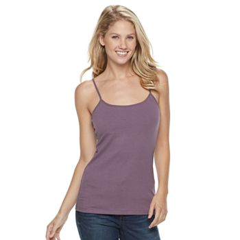 1bdac862ce4a8f Women s SONOMA Goods for Life™ Everyday Built-In Support Camisole