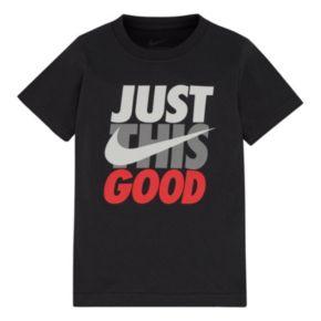 "Boys 4-7 Nike ""Just This Good"" Tee"