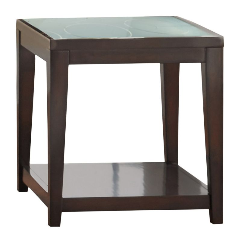 Arden End Table, Brown