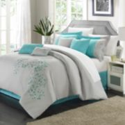 Chic Home Floral 8-piece Bed Set