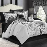 Chic Home Olivia 20-piece Paisley Print Reversible Bed Set