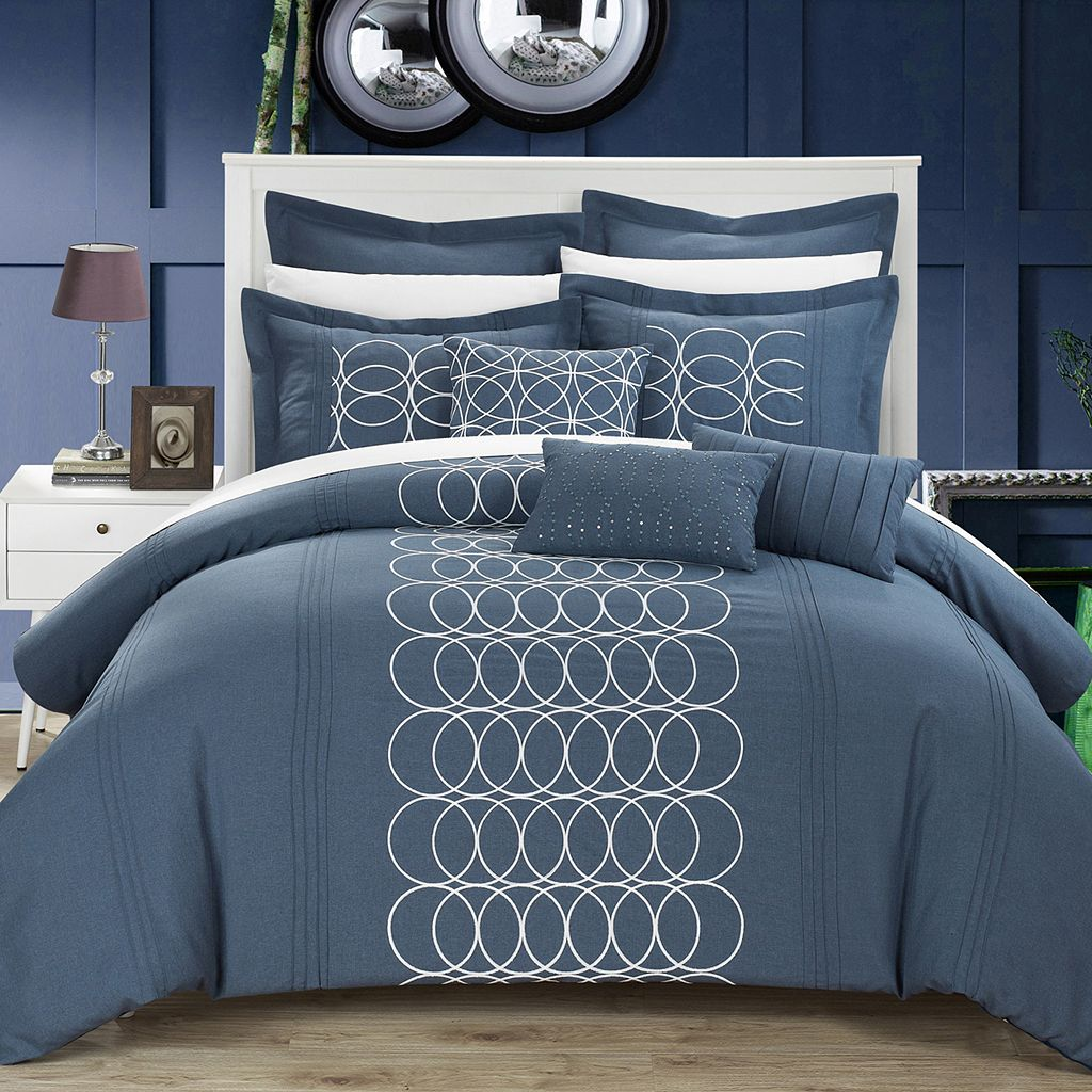 Chic Home Moderna 8-piece Bed Set