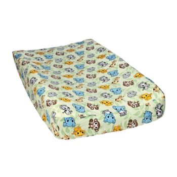 Waverly Baby by Trend Lab Chibi Zoo Changing Pad Cover