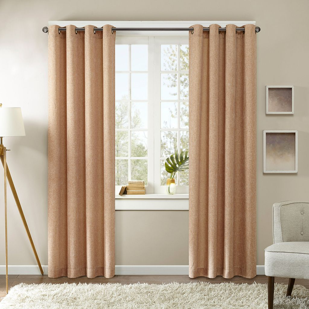 Madison Park Harlowe Textured Window Curtain