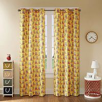 Mi Zone 2-pack Luna Owl Printed Window Curtains