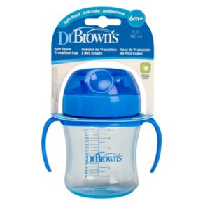 Dr. Brown's 6 Ounce Stage 1 Soft-Spout Transition Cup
