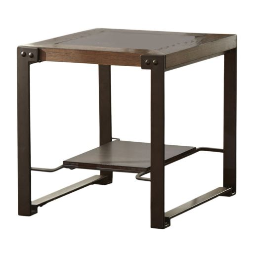 Oasis Industrial End Table