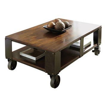 Barrett Industrial Coffee Table