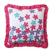 Amanda Applique Throw Pillow