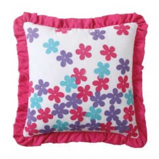 Amanda Applique Throw Pillow