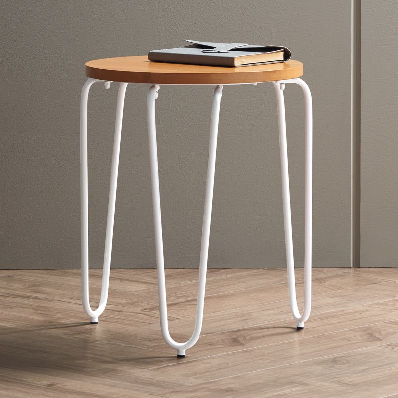 Apt. 9 Hairpin Leg End Table, White