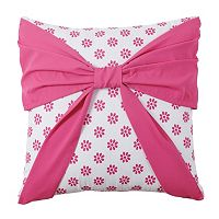Amanda Bow Throw Pillow