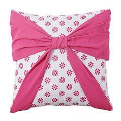 Amanda Bow Throw Pillow