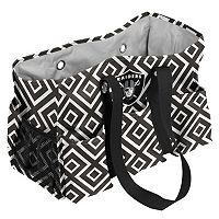 Logo Brand Oakland Raiders Diamond Junior Caddy