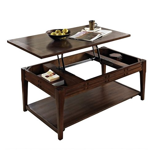 Hemnes Lift Top Coffee Table: Crestline Lift Top Coffee Table