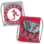 Logo Brand Alabama Crimson Tide Double Header Reversible Backsack