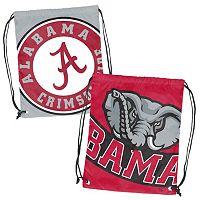Logo Brand Alabama Crimson Tide Double Header Reversible Backsack