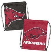 Logo Brand Arkansas Razorbacks Double Header Reversible Backsack