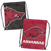 Logo Brand Arkansas Razorbacks Double Header Reversible Backsack