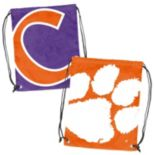 Logo Brand Clemson Tigers Double Header Reversible Backsack