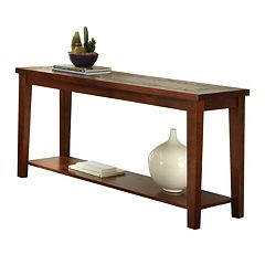Davenport Slate Sofa Table