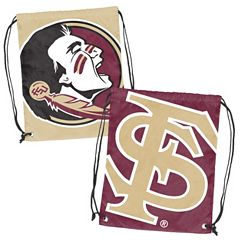Logo Brand Florida State Seminoles Double Header Reversible Backsack