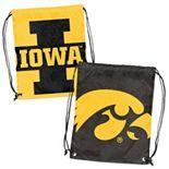 Logo Brand Iowa Hawkeyes Double Header Reversible Backsack