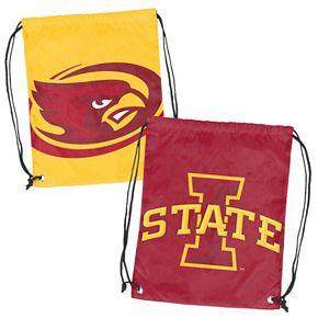 Logo Brand Iowa State Cyclones Double Header Reversible Backsack