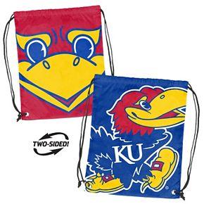 Logo Brand Kansas Jayhawks Double Header Reversible Backsack