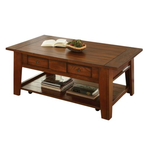 Desoto Casters Coffee Table