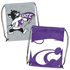 Logo Brand Kansas State Wildcats Double Header Reversible Backsack