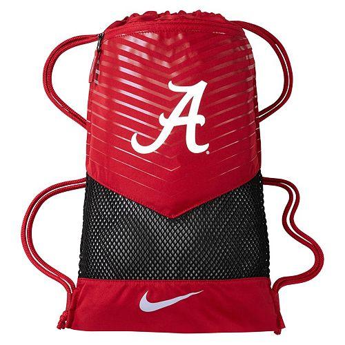 f1ba718253c Nike Alabama Crimson Tide Vapor Gym Sack