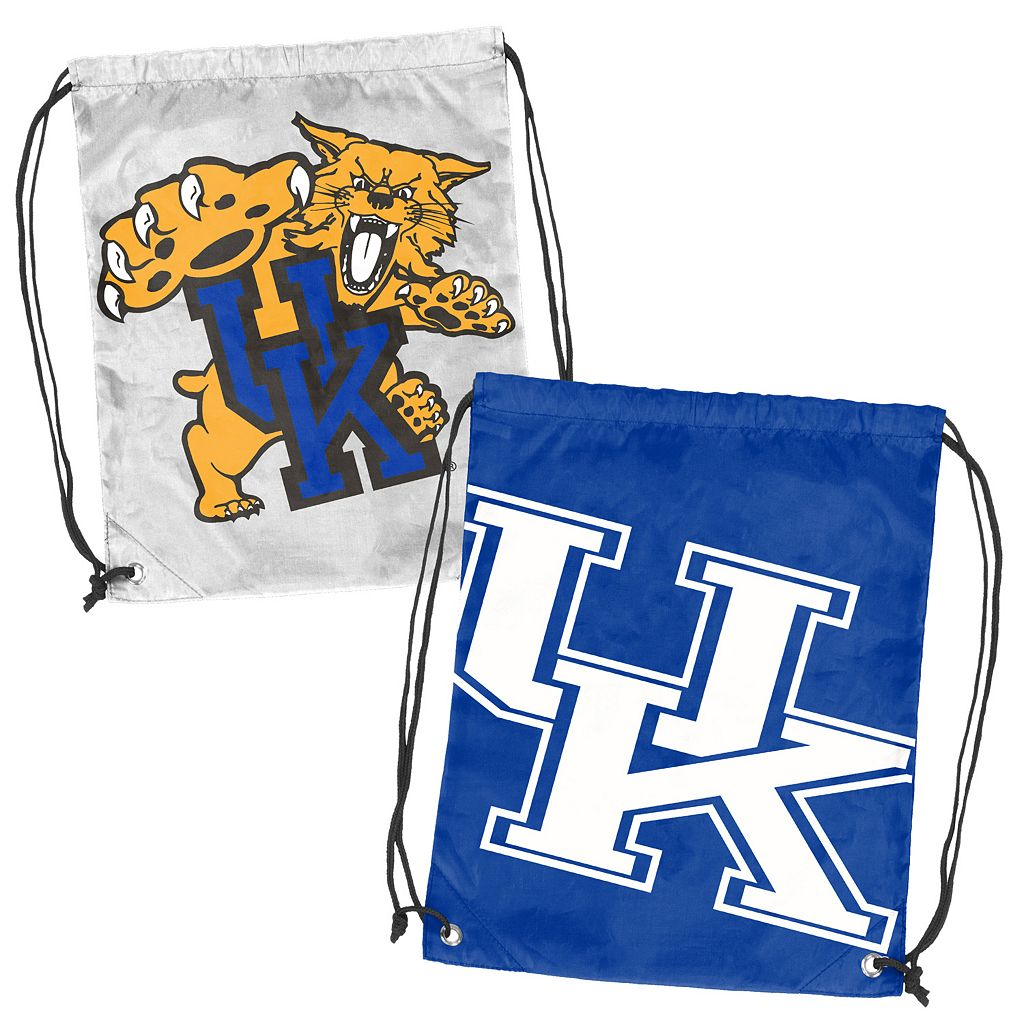 Logo Brand Kentucky Wildcats Double Header Reversible Backsack