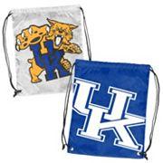 Logo Brand Kentucky Wildcats Double Header Reversible Backsack