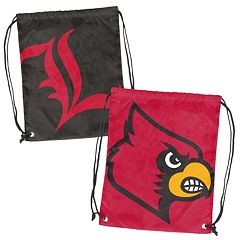Logo Brand Louisville Cardinals Double Header Reversible Backsack