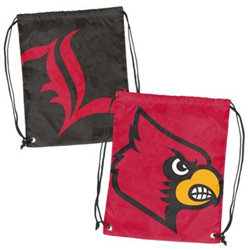 Logo Brand Louisville Cardinals Double Header Reversible Backsack