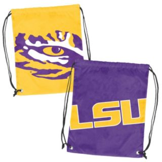 Logo Brand LSU Tigers Double Header Reversible Backsack