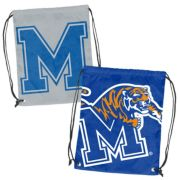 Logo Brand Memphis Tigers Double Header Reversible Backsack