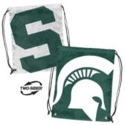 Logo Brand Michigan State Spartans Double Header Reversible Backsack