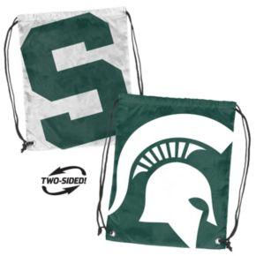 Logo Brand Michigan State Spartans Double Header Reversible Backsack