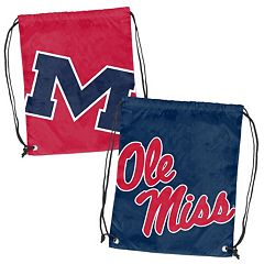 Logo Brand Ole Miss Rebels Double Header Reversible Backsack