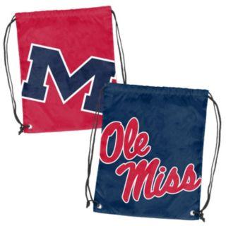 Logo Brand Ole Miss Rebels Double Header Reversible Backsack